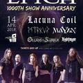 A Lacuna Coil is fellép az Epica áprilisi buliján