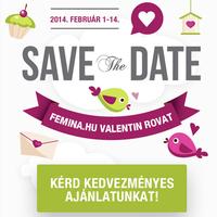 Listázza be termékét a Femina.hu Valentin rovatába!