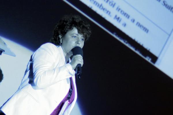 Rácz Brigitta a SuperSocial konferencián