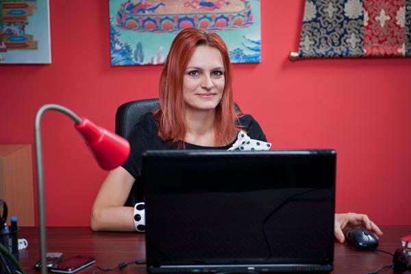 Pákozdi Gabriella, a Femina.hu főszerkesztője