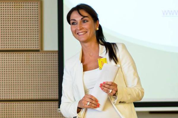 Szabó Mariann, a Femina Media értékesítési vezetője