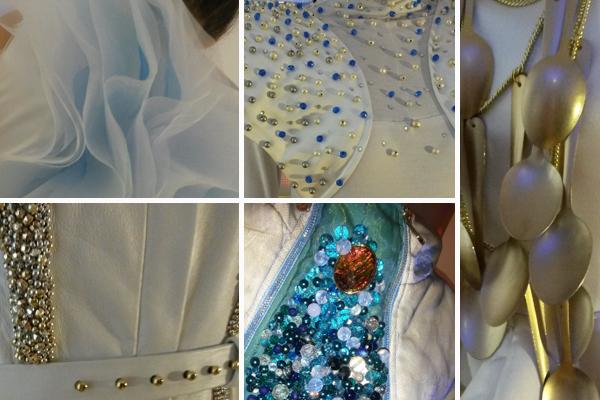 Kulisszafotók a készülő ruhákról