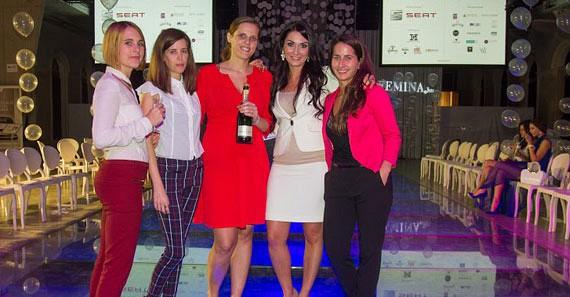 A Femina Media sales és support csapata a rendezvény végén fáradtan, de boldogan.