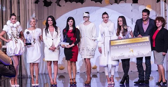 A nyertes pályaművek és tervezőik összeálltak egy közös fotó erejéig Árpa Attilával, a zsűri elnökével és a Femina Media vezetőségével.