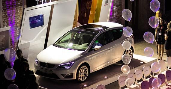 A SEAT, amellett, hogy a rendezvény főszponzora is volt, egy gyönyörű autót is elhozott.