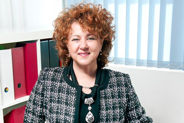 Rácz Brigitta, a Femina Media lapigazgatója