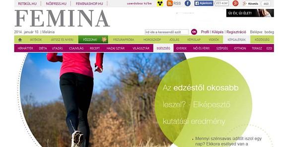 Az új év kapcsán egészségtudatosságra és rendszeres sportolásra hívtuk fel a figyelmet a 2 hetes Új év, új élet különrovatunkban, melyet a Magyar Olimpiai Bizottság szponzorált. (2014 január)