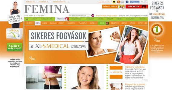 Az Omega Pharma legújabb terméke, az XL-S Medical fogyókúrás készítmény számára indítottunk egyedi rovatot a termékbevezető kampány részeként. A rovatban a szerkesztőségi tartalom mellett nyolc tesztelő sikertörténetét is bemutatjuk. (2016)