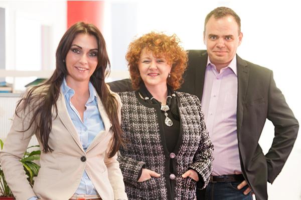 Szabó Mariann, Rácz Brigitta, Burányi Róbert