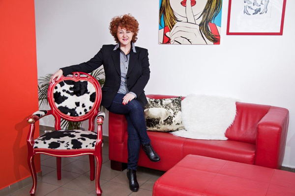 Rácz Brigitta, a Femina Media portfólió igazgatója