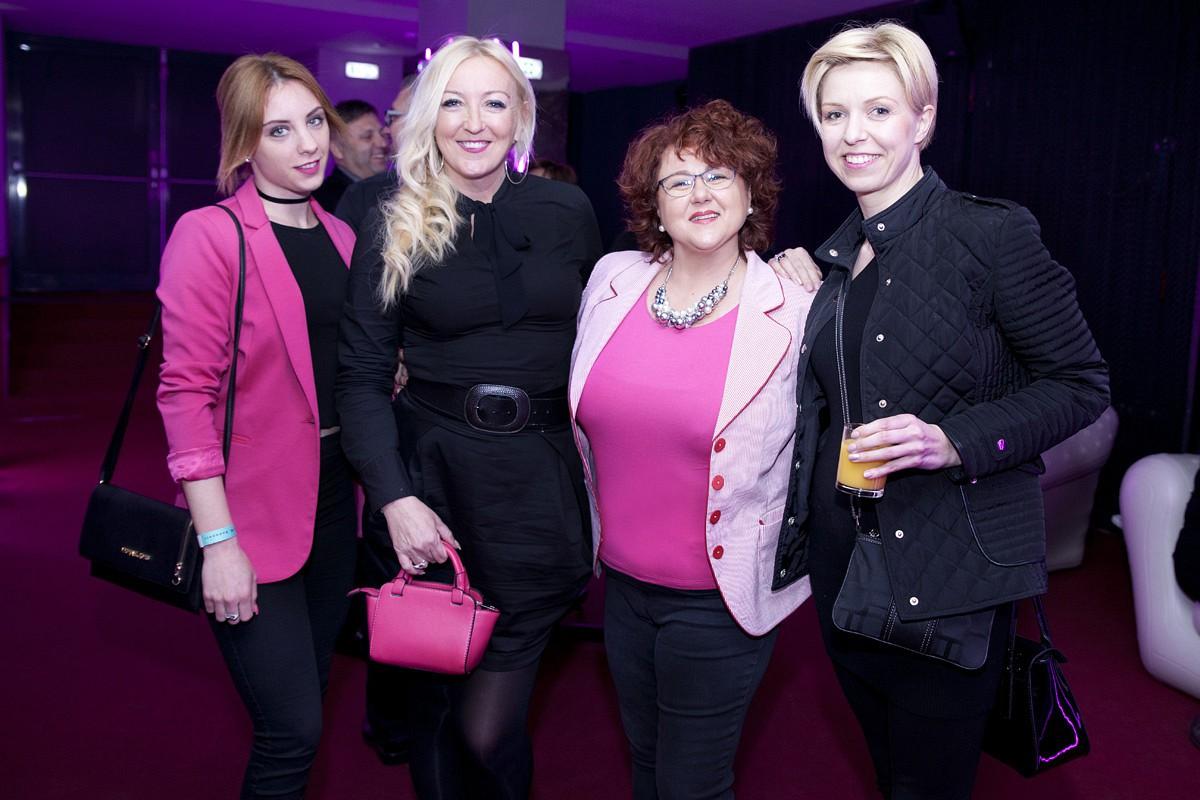 Szabó Lolita, Kandász Andrea, Rácz Brigitta és Abonyi Bernadett, a CEMP Sales House sales support vezetője