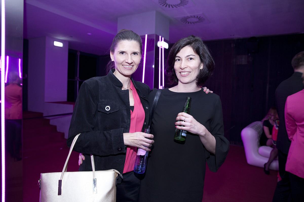 Horváth Júlia, a Femina.hu fejlesztési vezetője, Zsédey Teréz, a Femina.hu grafikus designere