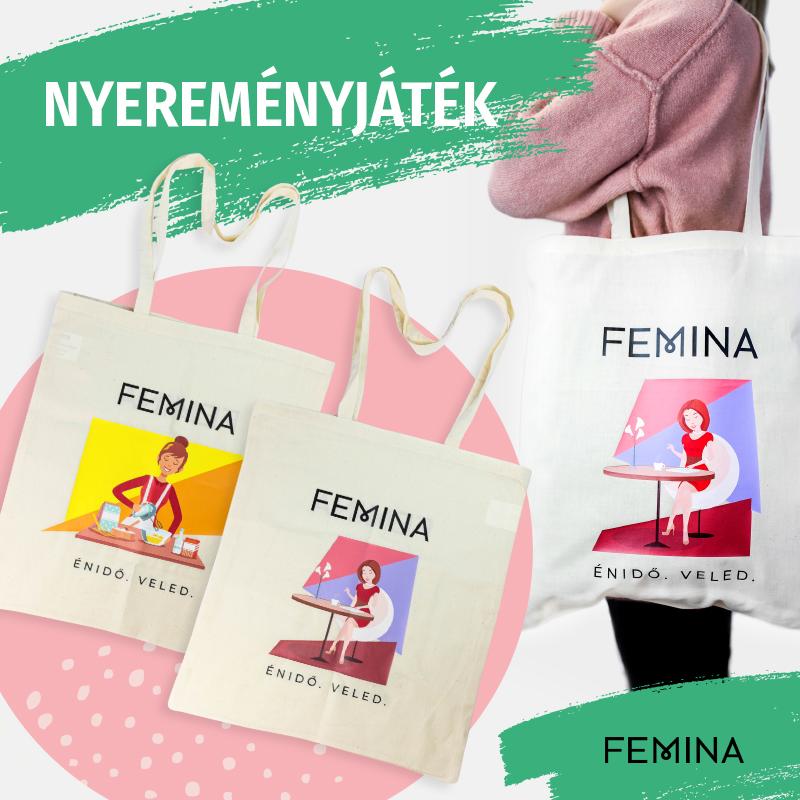 Újabb nyereményjáték a Femina Instagramon!