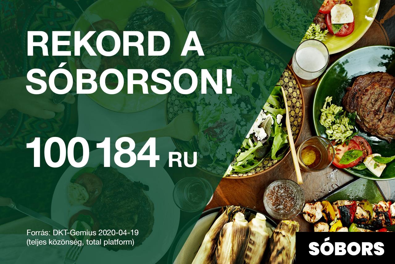 Újabb rekord a Sóborson: 100ezer felett a napi látogatószám