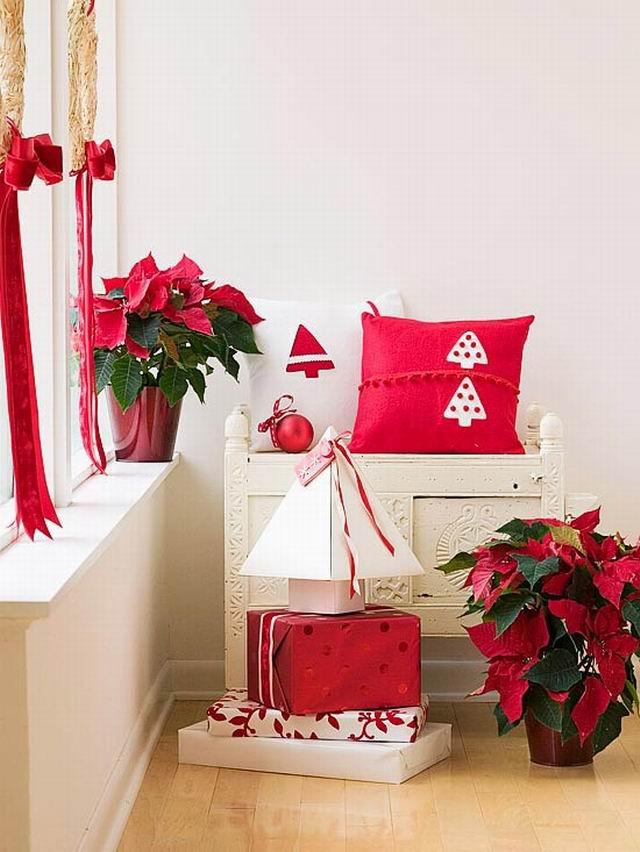 Színes ünnep - Piros és fehér karácsony