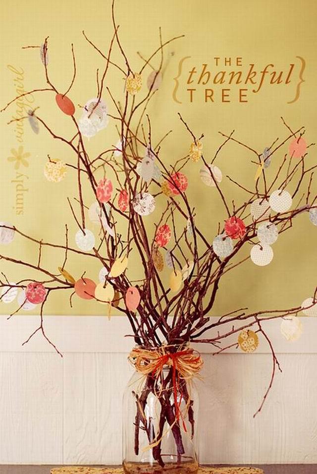 A hálaadás fája – egy lélekemelő dekoráció