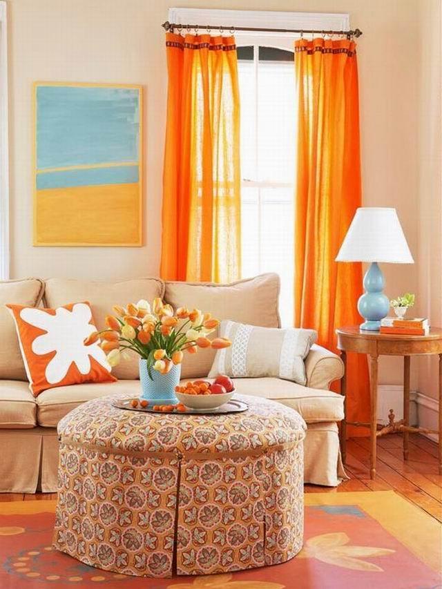 3 szín, amely felmelegíti a nappalit