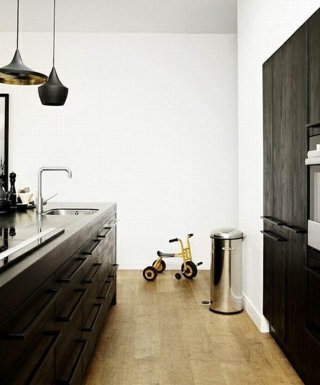 Fekete-fehér konyhák