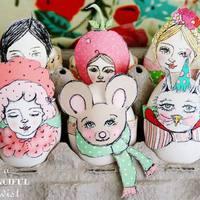 Húsvét a gyerekekkel: hímesek, girlandok, tojásfa