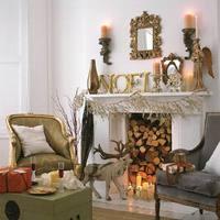 Az ünnep színei - Arany és fehér karácsony