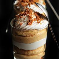 {Gourmet} Egy finom desszert: sütőtökös sajttorta trifle