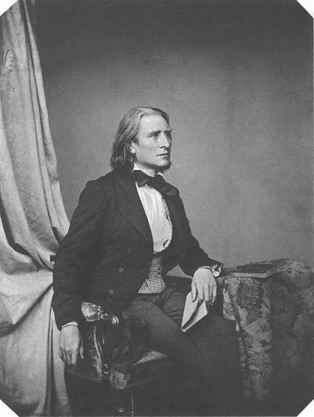Liszt Ferenc, áldja önt az ég!