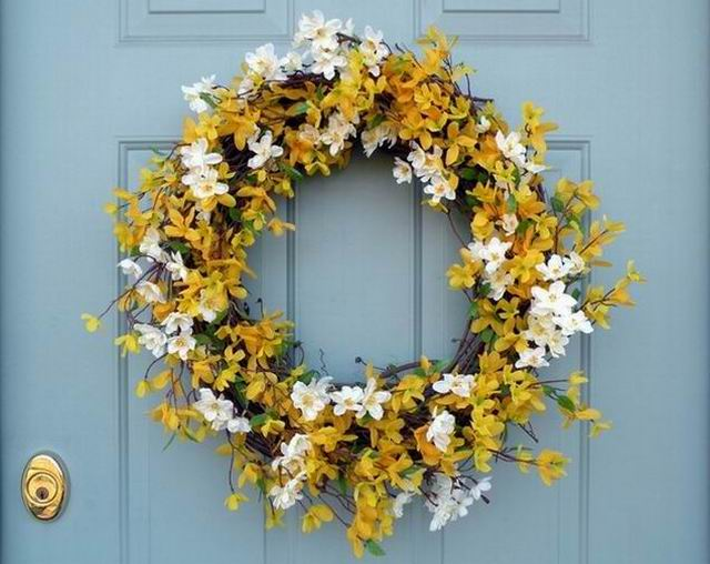 Tavaszi ajtódíszek a-tól z-ig