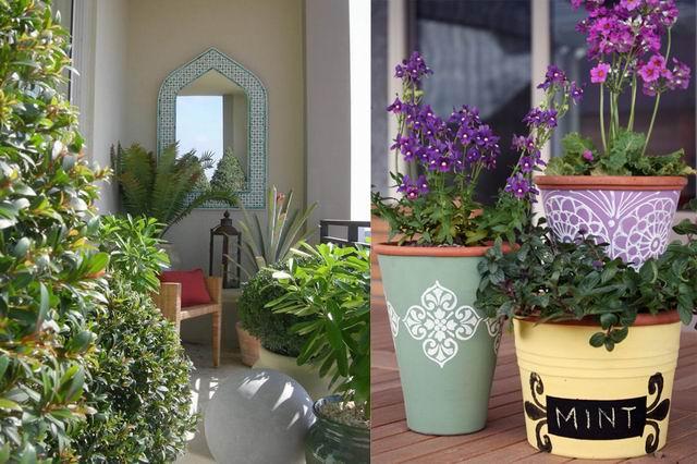 Mini kert az erkélyen