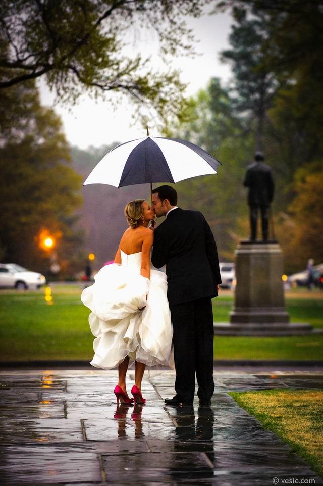 Esküvők az esőben