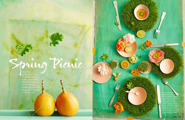 Tavaszi szín-piknik