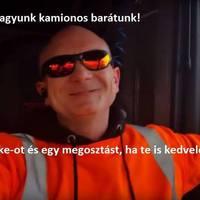 Árpi, a hős kamionos
