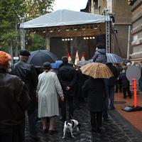 A politikai elit bojkottálta október 23-át