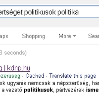 A Google szívatja a KDNP-t