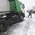 Kamionos fennakadás a veszprémi körgyűrűn