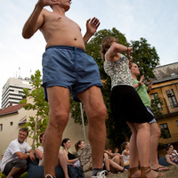 Veszprémi Utcazene Fesztivál 2010 - képek 15   utcazenészek