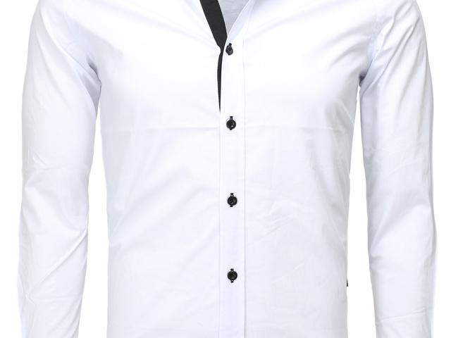 54dd7de8c5 Carisma hosszú ujjú ing fekete szegéllyel