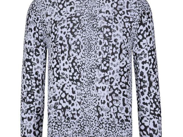 38da174b85 Versus Versace Leopard Print Crew Neck Jumper
