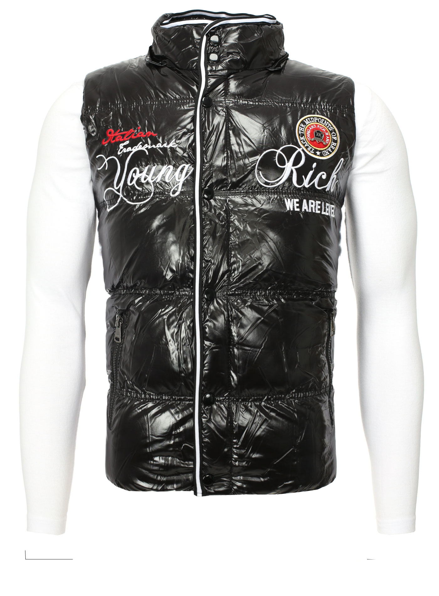a582713696 Young & Rich Men Winter Vest
