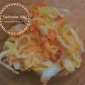 Sütőtökös-sárgarépás savanyú káposzta