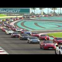 Record Ferrari gathering in Middle East