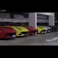 40 Ferrari F12berlinettas take on the Nordschleife