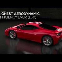 Ferrari 458 Speciale Focus on aerodynamics