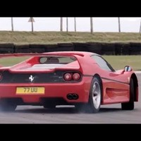 Ferrari F40 v Ferrari F50. Like You've Never Seen Them Before