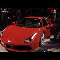 Ferrari 488 GTB - World Premiere highlights