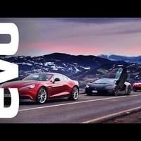 Ferrari F12 vs Lamborghini Aventador vs Aston Martin Vanquish