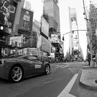 Ferrari rally in New York