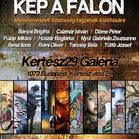 KÉP A FALON - közös kiállítás