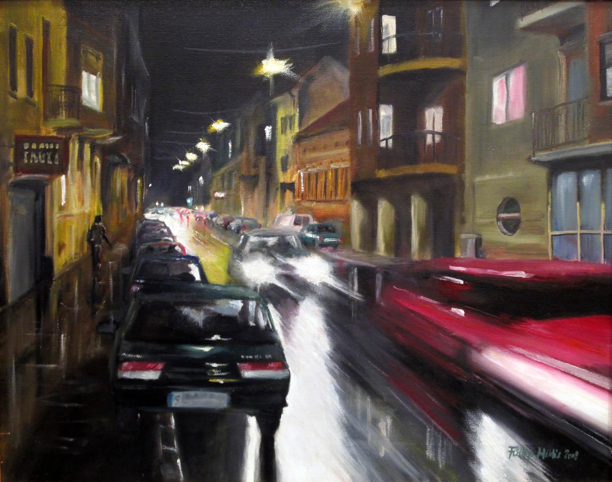 Kiscelli<br />40x50 cm, olaj/vászon (2008)<br />49 000 Ft
