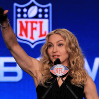 2012 NFL Super Bowl: Madonna in half-time show