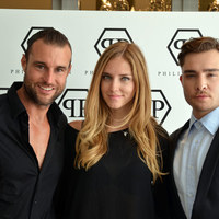 The Blonde Salad's blogger meeting Chuck Bass…